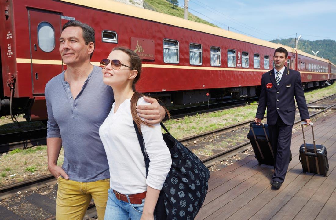 Bahnsteig Zarengold – Ross Hillier